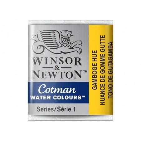 Aquarelle fine Winsor et Newton - Nuance de Gomme Gutte - 1/2 godet Winsor & Newton - 2