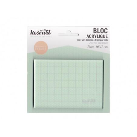 Acheter Bloc positionneur en acrylique pour tampons transparents - 2,90€ en ligne sur La Petite Epicerie - Loisirs créatifs