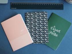 Trio de carnets de poche - A6  - 2