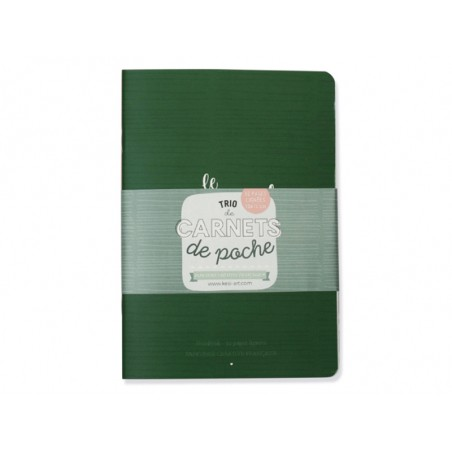 Trio de carnets de poche - A6  - 4