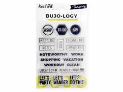 Acheter Tampons transparents pour Bullet Journal - Textes - 4,90€ en ligne sur La Petite Epicerie - Loisirs créatifs