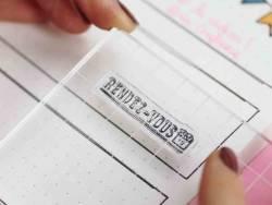 Acheter Tampons transparents pour Bullet Journal - Textes - 4,90€ en ligne sur La Petite Epicerie - 100% Loisirs créatifs