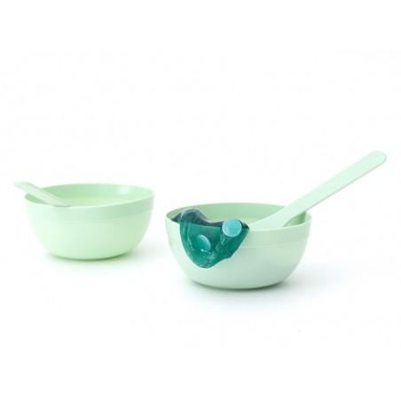 Acheter Accessoires de fabrication de slimes - 2 petits bols et 2 spatules - mint - 2,99€ en ligne sur La Petite Epicerie - ...