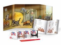 Acheter Kit de modelage et jeux - Chats - Fimo Kids - 10,99€ en ligne sur La Petite Epicerie - Loisirs créatifs