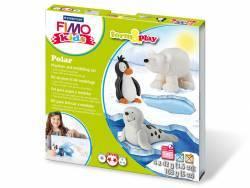 Kit de modelage et jeux - Animaux de la banquise - Fimo Kids Fimo - 1
