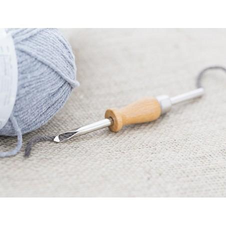 Acheter Punch needle / aiguille magique pour laine - manche en bois - 6,90€ en ligne sur La Petite Epicerie - 100% Loisirs c...