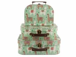 Acheter Set de 3 valisettes - Lamas - 27,90€ en ligne sur La Petite Epicerie - 100% Loisirs créatifs