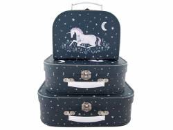 Acheter Set de 3 valisettes - Licorne - 27,90€ en ligne sur La Petite Epicerie - 100% Loisirs créatifs