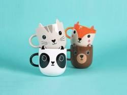 Acheter Mug / Tasse kawaii - Chat gris - 13,99€ en ligne sur La Petite Epicerie - Loisirs créatifs