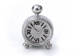 Mini réveil métal   - 1