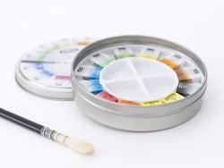 Acheter Coffret 12 demi-godets aquarelle fine - boîte ronde - 18,99€ en ligne sur La Petite Epicerie - 100% Loisirs créatifs
