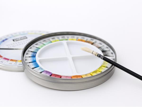Acheter Coffret 24 demi-godets aquarelle fine - boîte ronde - 29,99€ en ligne sur La Petite Epicerie - 100% Loisirs créatifs