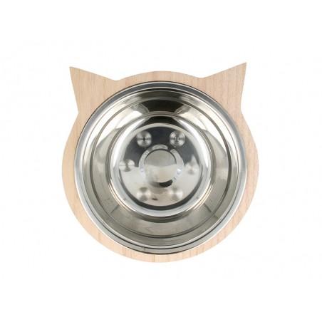Acheter Gamelle pour chat et son socle en bois - 9,59€ en ligne sur La Petite Epicerie - 100% Loisirs créatifs
