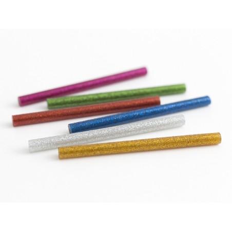 Acheter 6 bâtons de colle à paillettes pour pistolet à colle - 1,19€ en ligne sur La Petite Epicerie - Loisirs créatifs