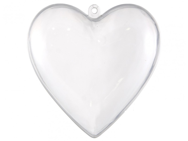 Acheter Coeur en plastique 7 cm à customiser - 0,99€ en ligne sur La Petite Epicerie - 100% Loisirs créatifs