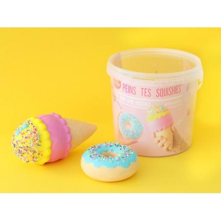Acheter Kit créatif Peins tes squishy - Gourmandises - 29,90€ en ligne sur La Petite Epicerie - 100% Loisirs créatifs