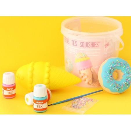 Kit créatif  Peins tes squishy - Gourmandises La petite épicerie - 3