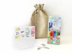 Pack créatif cadeau - Les porte-clés en plastique fou  - 1