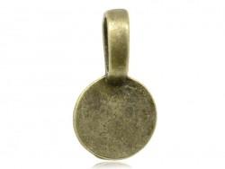 1 Ankeranhänger - bronzefarben