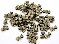 1 Metallschleifenverbinder - bronzefarben