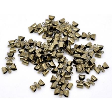 Acheter 1 noeud connecteur métal - couleur bronze - 0,29€ en ligne sur La Petite Epicerie - 100% Loisirs créatifs