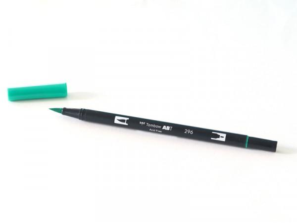 Acheter Feutre double pointe Tombow ABT - vert émeraude 296 - 3,39€ en ligne sur La Petite Epicerie - Loisirs créatifs