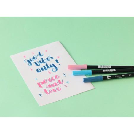 Acheter Feutre double pointe Tombow ABT - bleu turquoise 443 - 3,39€ en ligne sur La Petite Epicerie - Loisirs créatifs
