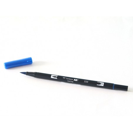 Acheter Feutre double pointe Tombow ABT - bleu outremer 535 - 3,39€ en ligne sur La Petite Epicerie - Loisirs créatifs
