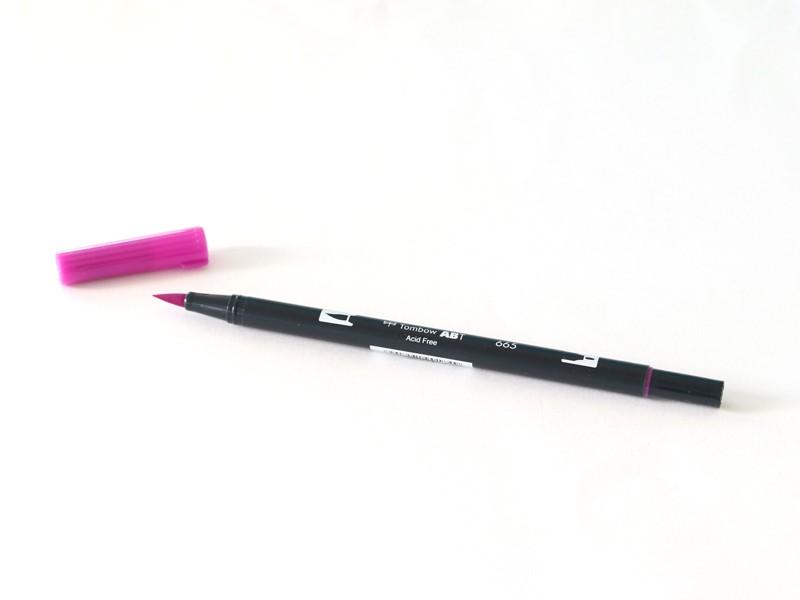 Acheter Feutre double pointe Tombow ABT - violet lilas 665 - 3,39€ en ligne sur La Petite Epicerie - Loisirs créatifs