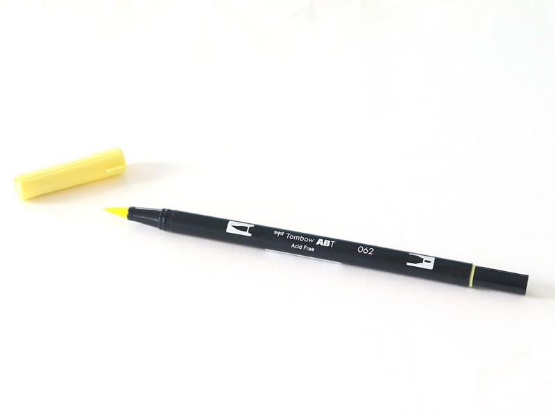 Acheter Feutre double pointe Tombow ABT - jaune poussin 062 - 3,39€ en ligne sur La Petite Epicerie - Loisirs créatifs