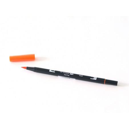 Acheter Feutre double pointe Tombow ABT - corail 905 - 3,39€ en ligne sur La Petite Epicerie - Loisirs créatifs