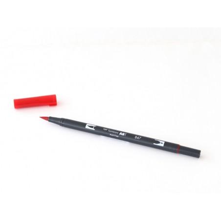Acheter Feutre double pointe Tombow ABT - rouge coquelicot 847 - 3,39€ en ligne sur La Petite Epicerie - Loisirs créatifs
