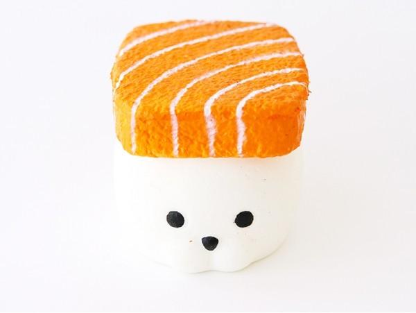 Squishy sushi phoque saumon  - 1