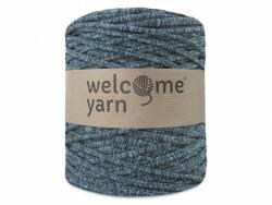 Grande bobine de fil trapilho - chiné vert et gris Welcome Yarn - 1