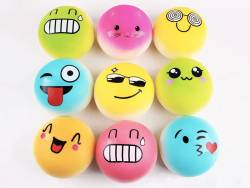 Acheter Squishy emoji rose - visage aléatoire - anti stress - 4,99€ en ligne sur La Petite Epicerie - 100% Loisirs créatifs