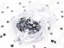 Acheter Paillettes en forme de cœur - argent - 1,99€ en ligne sur La Petite Epicerie - Loisirs créatifs