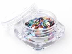 Paillettes en forme de cœur - multicolore  - 2