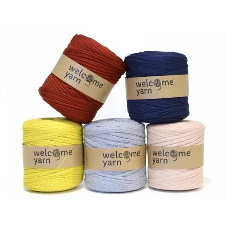Grande bobine de fil trapilho - bleu nuit Welcome Yarn - 2