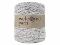 Grande bobine de fil trapilho - gris chiné Welcome Yarn - 1