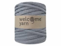 Grande bobine de fil trapilho - gris rayé Welcome Yarn - 1