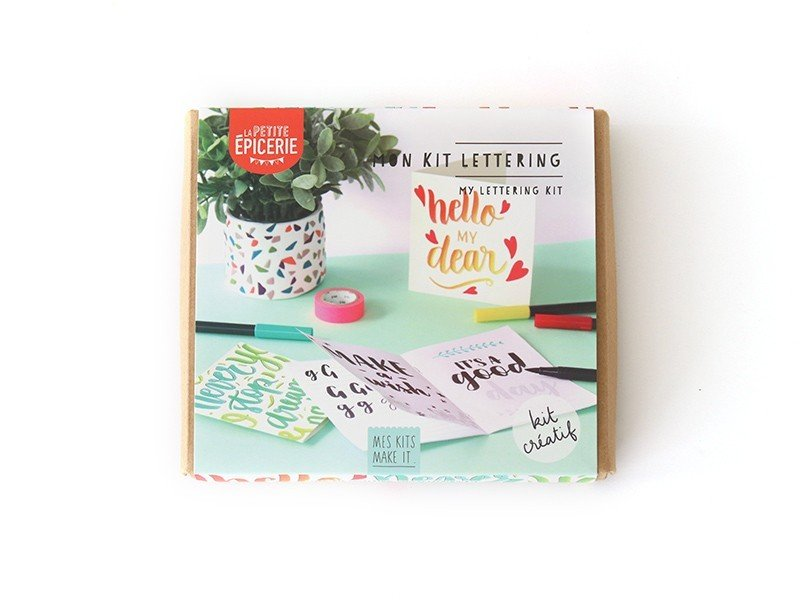 Kit MKMI - Mon kit de lettering - Mes kits Make It La petite épicerie - 1