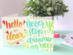 Kit MKMI - Mon kit de lettering - Mes kits Make It La petite épicerie - 2