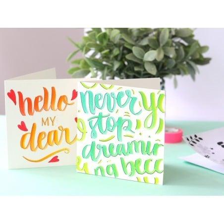 Acheter Kit MKMI - Mon kit de lettering - Mes kits Make It - 16,99€ en ligne sur La Petite Epicerie - Loisirs créatifs