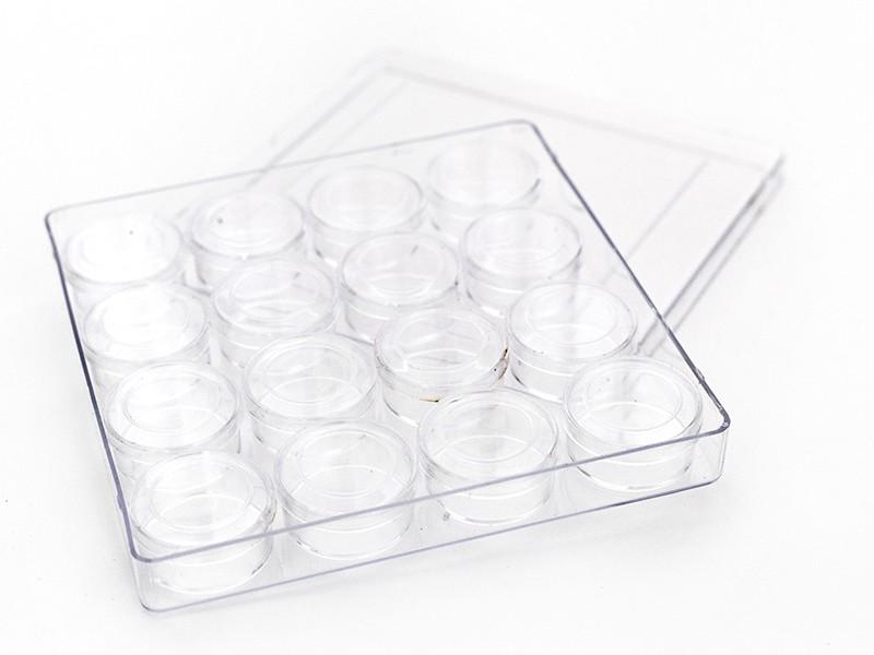 Acheter Boîte carrée & ses 16 petites boîtes rondes - 5,50€ en ligne sur La Petite Epicerie - Loisirs créatifs