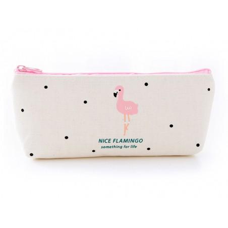 Acheter Trousse flamant rose et petits pois - 8,99€ en ligne sur La Petite Epicerie - 100% Loisirs créatifs