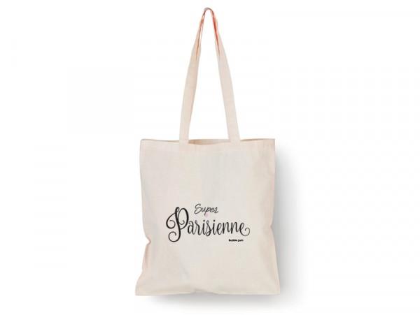 """Acheter Tote bag """"Super Parisienne"""" - 9,99€ en ligne sur La Petite Epicerie - Loisirs créatifs"""