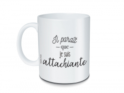 Mug à message -  Attachiante Bubble Gum - 1