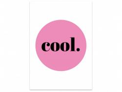 Acheter Carte postale - Cool - 1,59€ en ligne sur La Petite Epicerie - 100% Loisirs créatifs