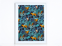 Affiche - Jungle Season Paper - 1