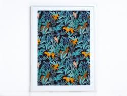 Acheter Affiche - Jungle - 17,99€ en ligne sur La Petite Epicerie - Loisirs créatifs